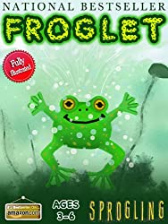 Froglet: The Story of a Baby Frog (Bedtime Story Age 3-6) Illustrated Children's Books by Sprogling