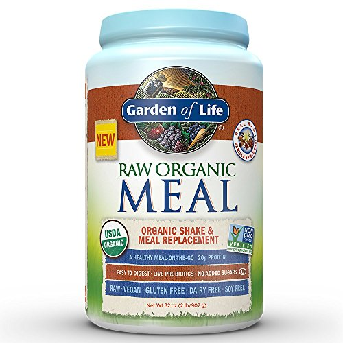 Garden Of Life Meal Replacement Organic Raw Plant Based Protein Powder Vanilla Chai Vegan