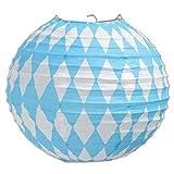 Beistle Oktoberfest Paper Lanterns, 9½-Inch
