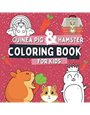 Guinea Pig & Hamster Coloring Book For Kids: Animal Coloring Pages For Toddlers with Big and Simple Images, Gift Idea For Children