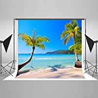 7x5ft Tropical Rainforest Background Beach Backdrop for Adult,Child,Animal,Gift Photo Studio HJ03877