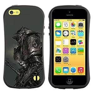 "Hypernova Slim Fit Dual Barniz Protector Caso Case Funda Para Apple iPhone 5C [Metal Armor Monster Hero Juego""]"
