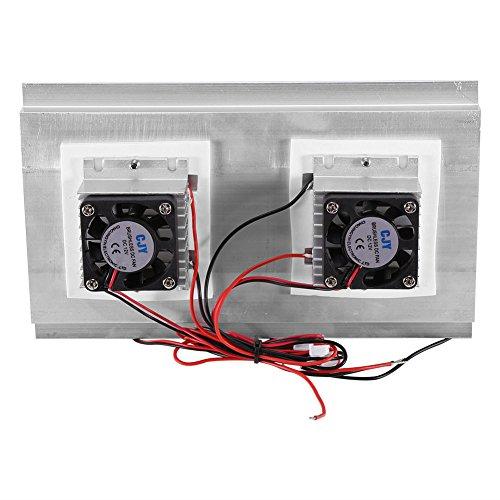 Northbear Thermoelectric Peltier Refrigeration Cooling Cooler Fan System Heatsink Kit Cooler (2 Fan) by Northbear (Image #5)