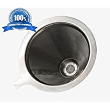 Kleanbrew by Artisan Barista - Reusable Stainless Steel Filter for Hario V60 01 Coffee Maker