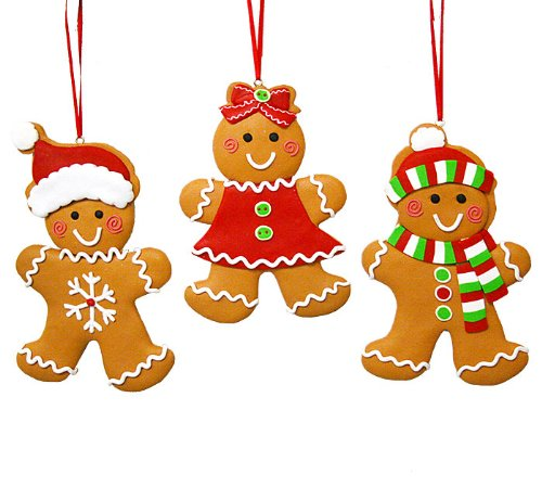 Price Tracking For: Set Of 3 Gingerbread Cookie Christmas