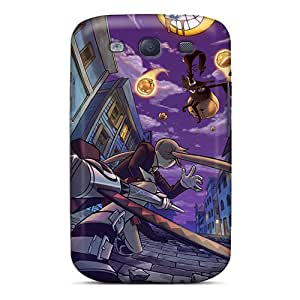New Fashionable EButcher CeC-1293PPBE Cover Case Specially Made For Galaxy S3(soul Eater)