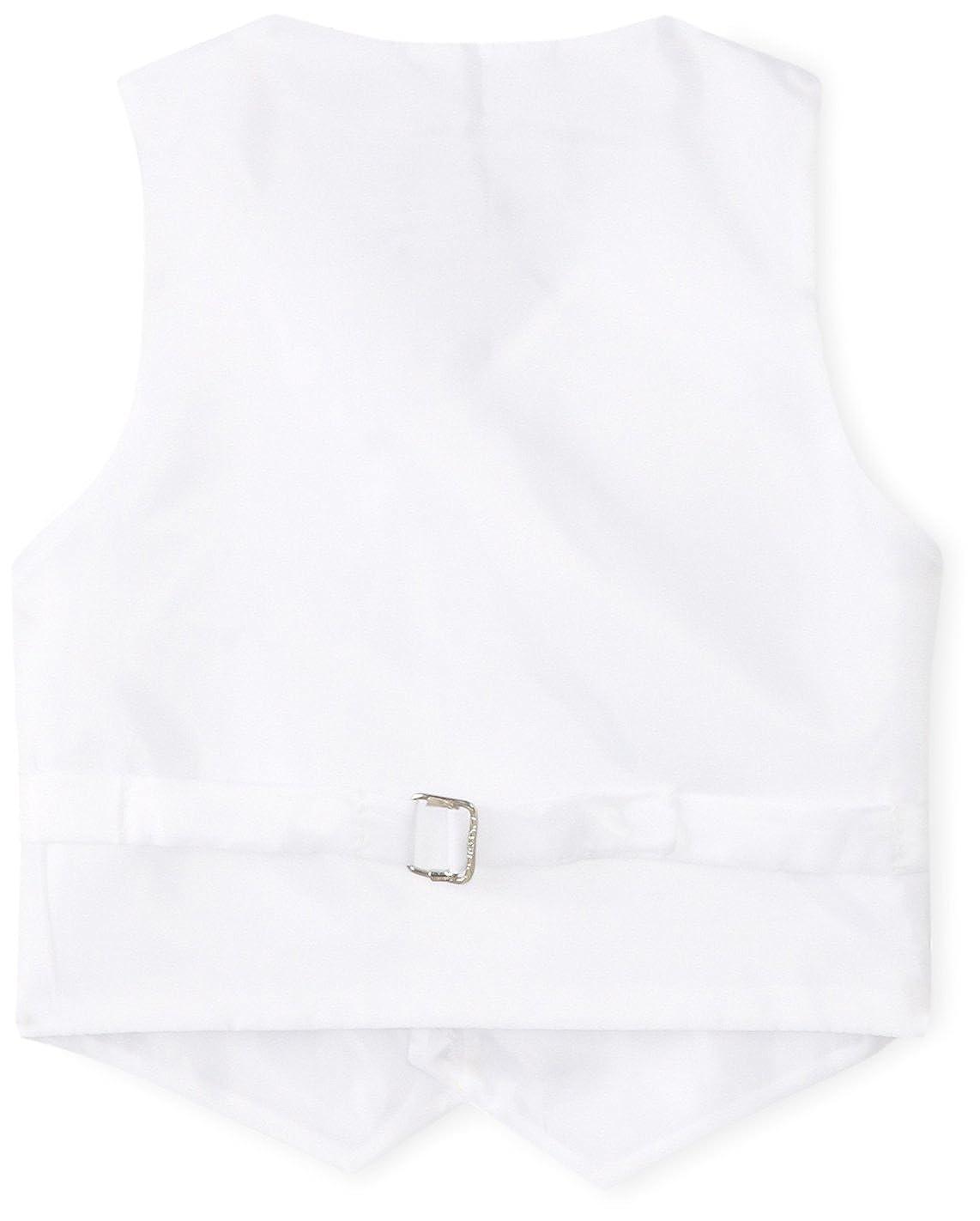 American Exchange Baby Boys Satin 4 Piece Vest Set