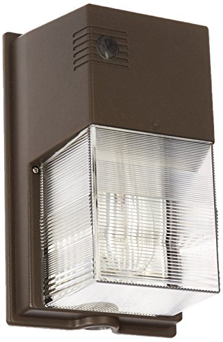 Hubbell Outdoor Lighting NRG350B NRG 300B Series 50-Watt Pulse Start Metal Halide Perimeter Wall Pack Without Photo Control