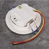 Motion Sensor Light Switch, 360 Degree Smart