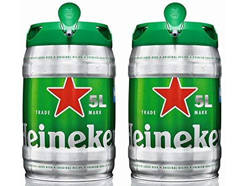 Heineken Cerveza Barril - Paquete de 2 x 5L: Amazon.es ...