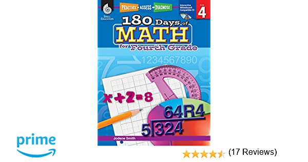 Amazon.com: 180 Days of Math for Fourth Grade (180 Days of ...