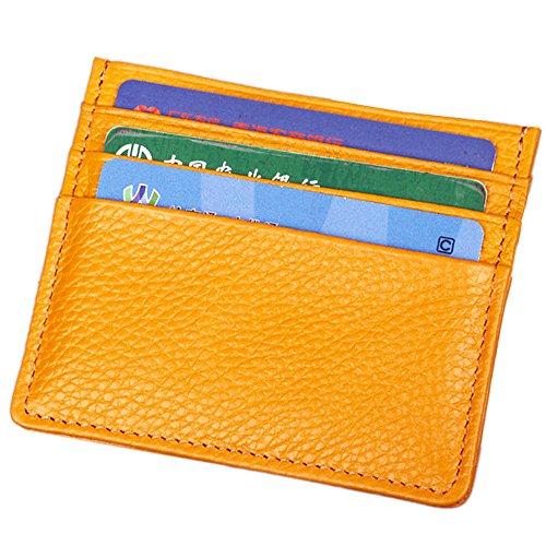 A Pelle Portafoglio A1 Custodia Blu Hibate yellow Credito Carte Di In Vera Per 5wTAH4SqUx