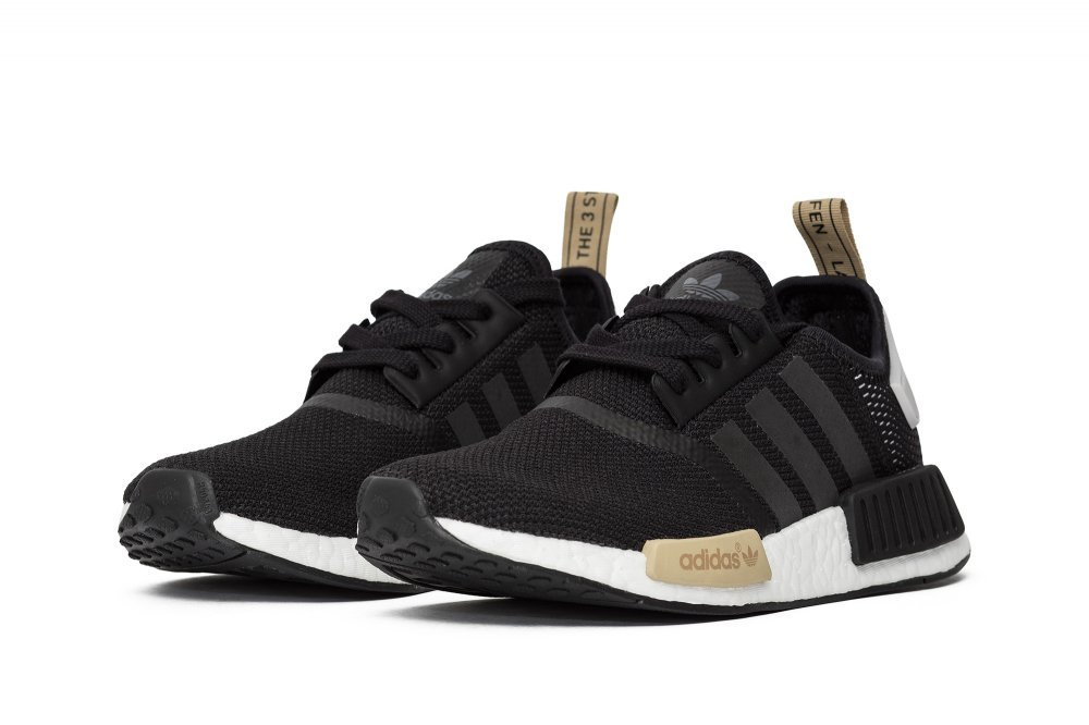 adidas Originals NMD_R1 Womens Running Trainers Sneakers B01HNFTZIW 5.5 B(M) US|Core Black/Core Black/Ice Purple