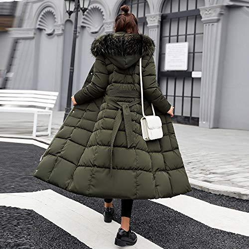 Femmes FemmDoudoune Duvet Hiver Veste Femme Vert ChaudDans Épaisse Manteau 99native Longue En nouvelle La fyYb6g7v