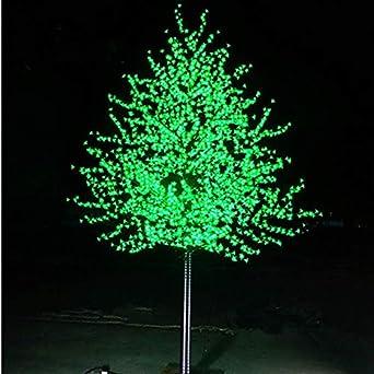 Luces navideñas Led Flor árbol boda jardín de vacaciones luz cuadrada decoración al aire libre interior Led árbol luces impermeable árbol de Navidad luz: Amazon.es: Iluminación
