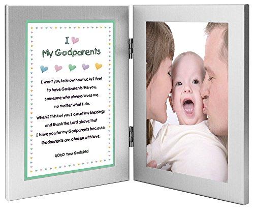 Baptism or Christmas Gift for Godparents - Sweet Godchild...