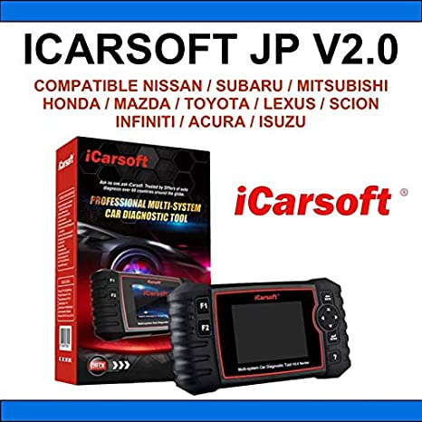 iCarsoft M/áquina Diagnosis Compatible con Coches japoneses JP V2.0