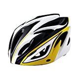 Gotaout Bicycle Helmet for Mountain Bike Helmet, Black White Yellow For Sale