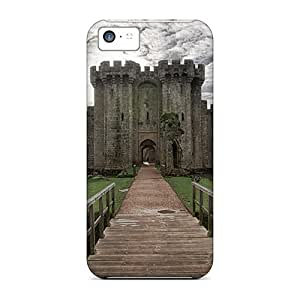 Hot DwnqLJq6346pEFUC Case Cover Protector For Iphone 5c- Beautiful Castle Lscape