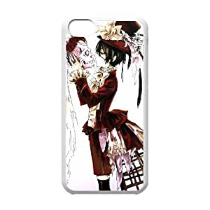 Black Butler iPhone 5c Cell Phone Case White Customize Toy zhm004-3898512