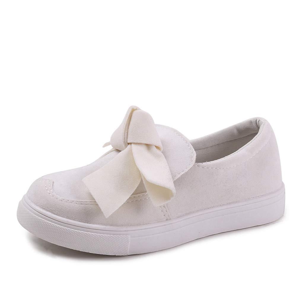 14c806e4db55f Amazon.com | T-JULY Women Loafers Plus Size Platform Slip on Bowtie ...
