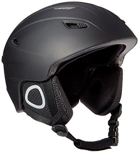 Lucky Bums Powder Series, Snow Sport Helmet, Black, Medium - Lucky Bums Snowboard Helmet