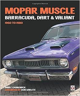 Mopar muscle barracuda dart valiant 1960 1980 marc cranswick mopar muscle barracuda dart valiant 1960 1980 marc cranswick don garlits 9781787110717 amazon books fandeluxe Gallery