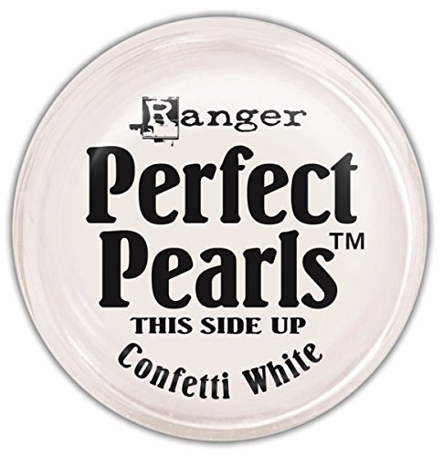 (Ranger Perfect Pearls Pigment Powder, 1-Ounce, Confetti White)