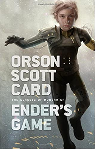 Cover art for Ender's Game by Orson Scott Card. Image grab from Amazon.com