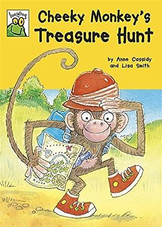 book cover of Cheeky Monkey\'s Treasure Hunt
