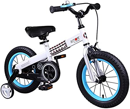 Gifts for Boys /& Girls RoyalBaby CubeTube Kids Bikes Green or Blue Buttons Bike 12 14 16 18 inch