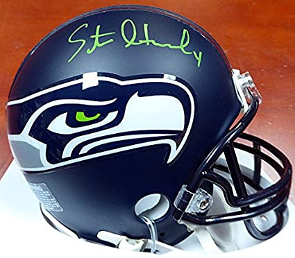 a25b675a8f2 Steven Hauschka Signed Seattle Seahawks Mini Helmet In Green -  Authentication Authentic Autograph - Football Collectible
