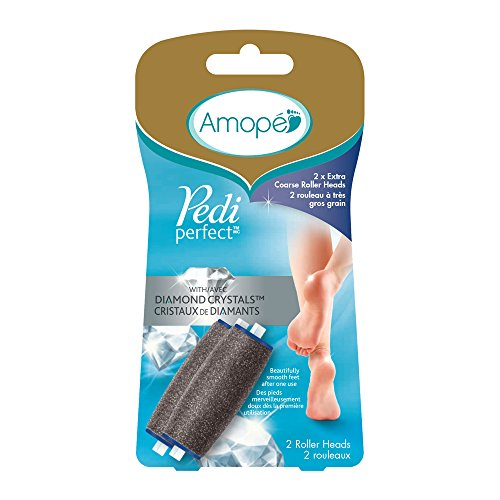 Amope Pedi Perfect Electronic Foot File Refills, Extra Coarse (Pack of 2)]()