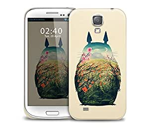 Spring Flowers Mouse Samsung Galaxy S4 GS4 protective phone case