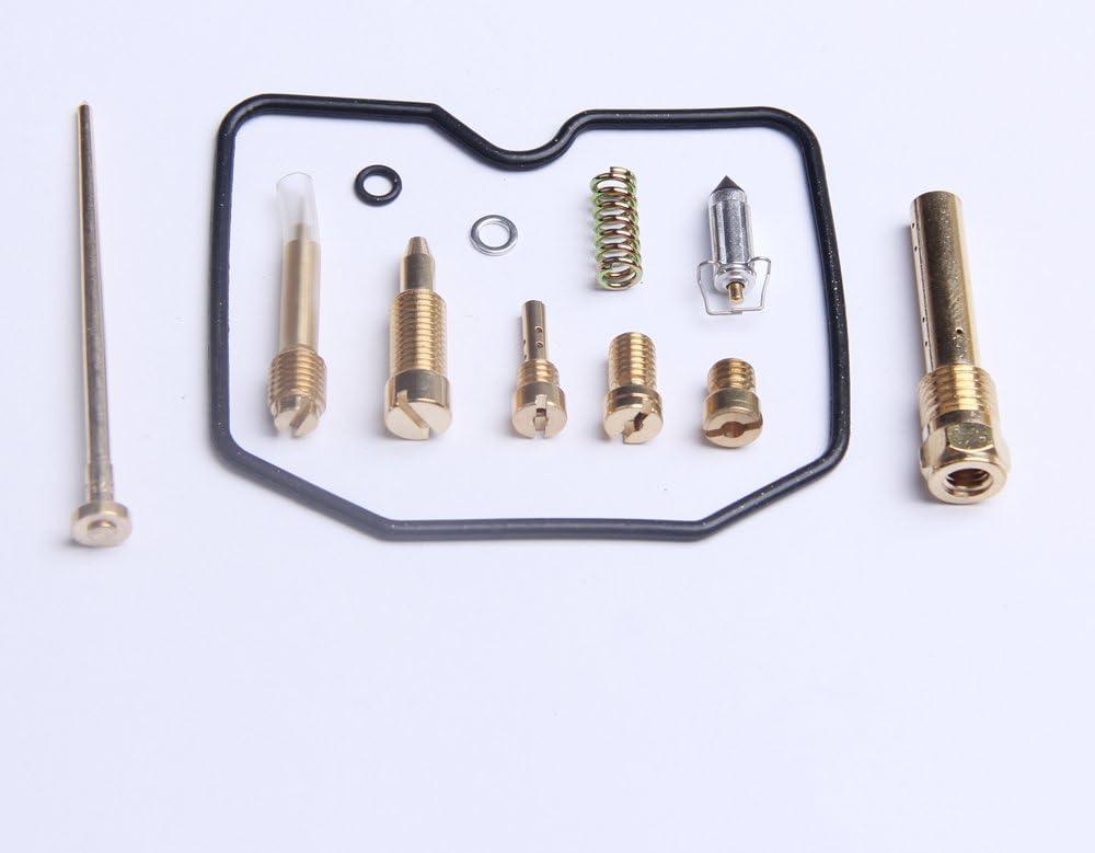 Carburetor Carb Rebuild Kit Repair for Kawasaki KEF300 Lakota KEF 300 1995-2003