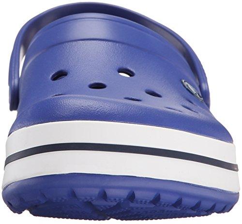 Crocs Crocband Clog, Zuecos con Correa, Unisex Azul (Cerulean Blue/Navy)