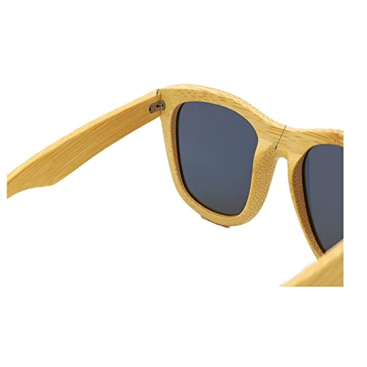 4703d3850 2016 Nuevos Gafas De Sol Para Hombres Y Mujeres Hechas A mano De Bambú Gafas  De Madera Polarizadas (4): Amazon.es: Ropa y accesorios