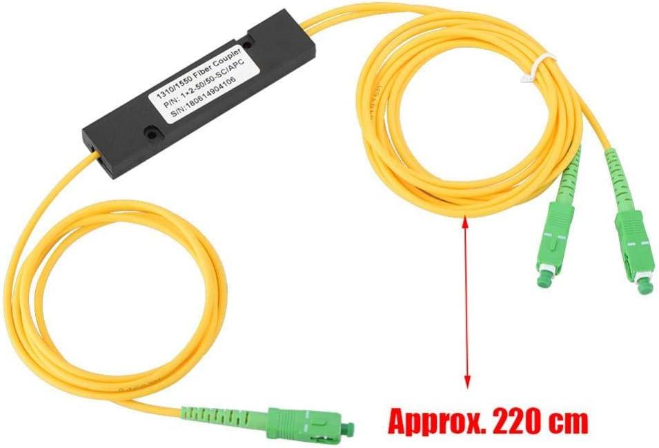 Mugast Plc Fiber Optic Splitter Tragbar 1 X 2 Sc Apc Elektronik