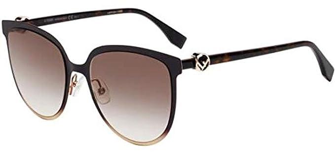 Gafas de Sol Fendi F IS FENDI FF 0328/G/S Brown/Brown Shaded ...