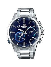 Casio Men's EQB-700D-2A Edifice Bluetooth Solar Powered Alarm Watch