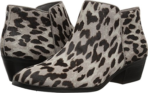 Sam Edelman Women's Petty Ankle Boot, Grey Leopard, 8 W - Boot Leopard Tall