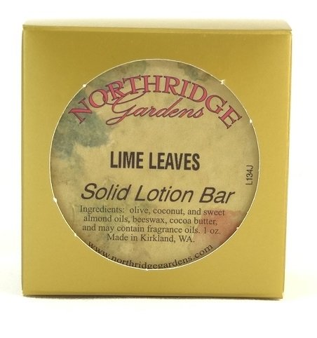 Northridge Gardens Lime Leaves Solid Lotion Bar 1oz