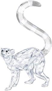 SWAROVSKI Lemur Figurine Crystal White 9.9 x 6.2 x 2.6 cm