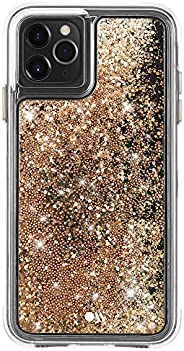 Case-Mate - iPhone 11 Pro Glitter Case - Waterfall - 5.8 - Gold