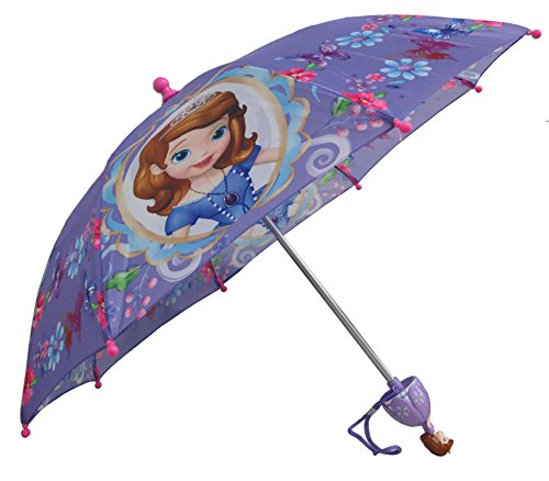 Princess Umbrella (Disney Sofia the First Princess Umbrella -3D Handle)