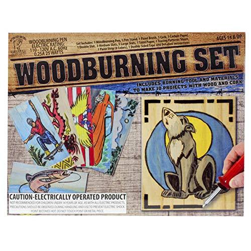 Gener8 GS21044M Wood Burning Set, -