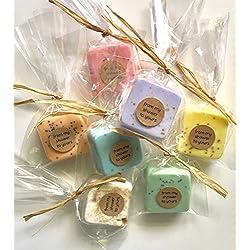 Wedding Favors: 25 Mini Soap Favors for Wedding Favors, Bridal Shower Favors, or Baby Shower Favors