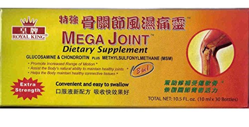 Mega Joint Dietary Supplement Liquid Glucosamine and Chondroitin (6) (Joint Mega)