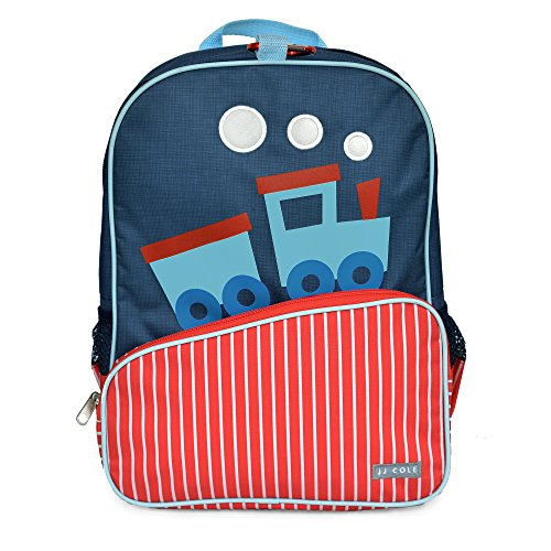Little JJ Cole Toddler Backpack, Train (Foam Backpack)