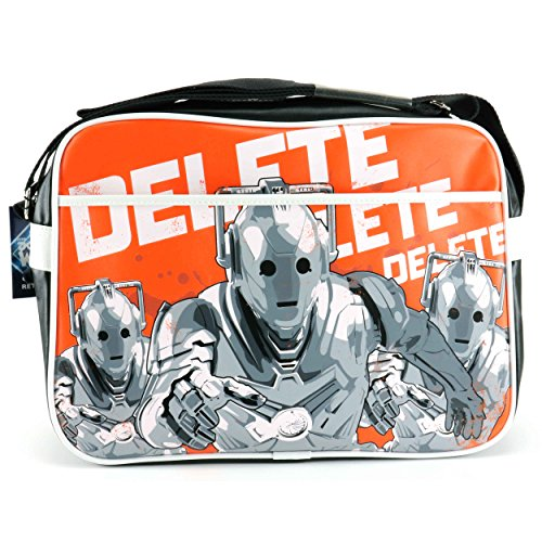 Priceless ® Retro Bag - Dr Who (cybermen)